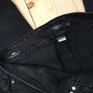 Torrid jeggings black size 18